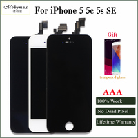 Mobymax Promotion LCD Screen Display For IPhone 45 5S 5C SE Touch Glass Digitizer Assembly Replacement