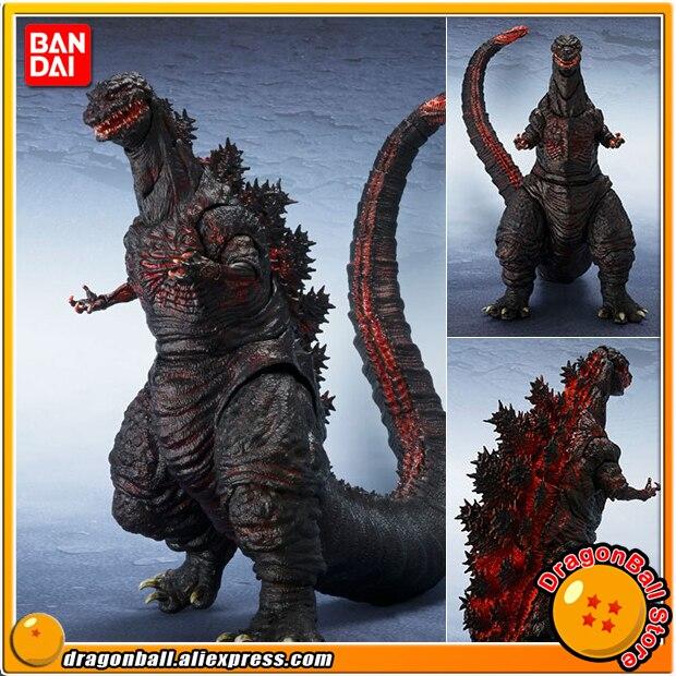 Original BANDAI Tamashii Nations S.H.MonsterArts (SHM) Action Figure - Godzilla (2016) anime destoroyah vs godzilla original bandai s h monsterarts shm exclusive action figure destoroyah special color ver