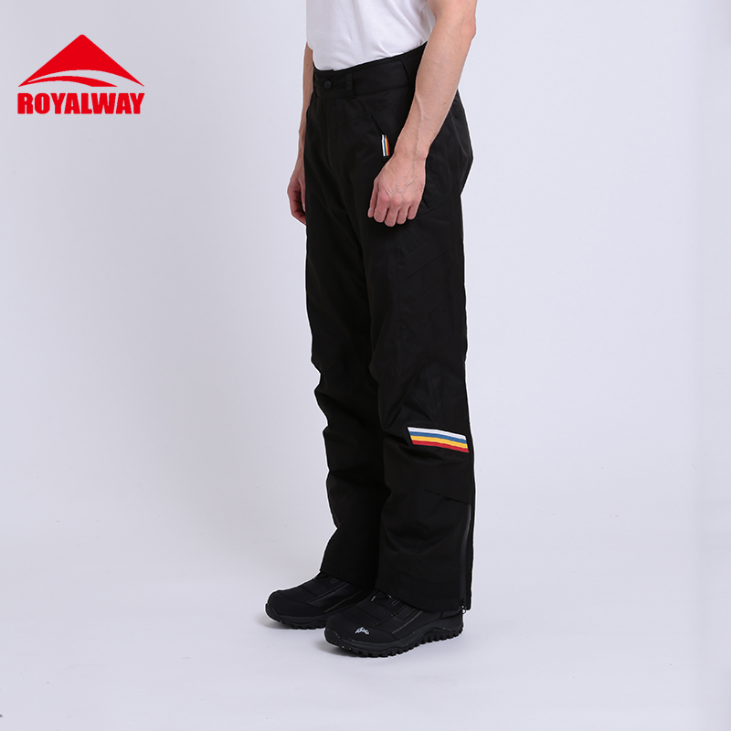 ROYALWAY Skiing Ski Pants Men Wear Resistant Waterproof Windproof Professional Snowboard ...