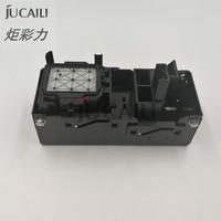 Jucaili 1pc drucker Mimaki tinte stapel für DX5/DX7 kopf für Mimak Skycolor 4180 6160 9160 capping station kopf montage