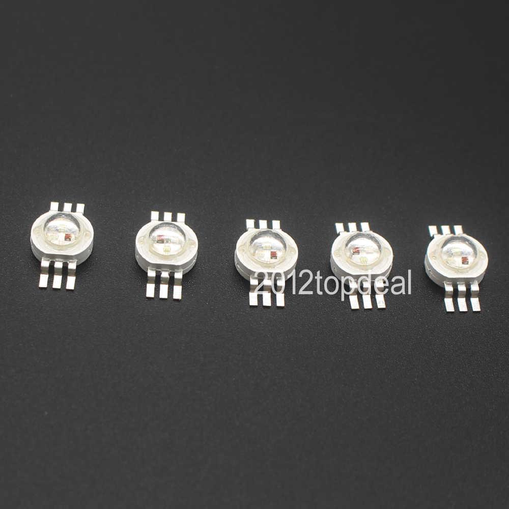 RGB RGBW RGBWY RGBWYV wysoka dioda led dużej mocy Chip 3W 4W 15W 18W kolorowe DIY odlewnictwo oświetlenie sceniczne led źródło 4pin 6pin 8pin 10pin 12pin