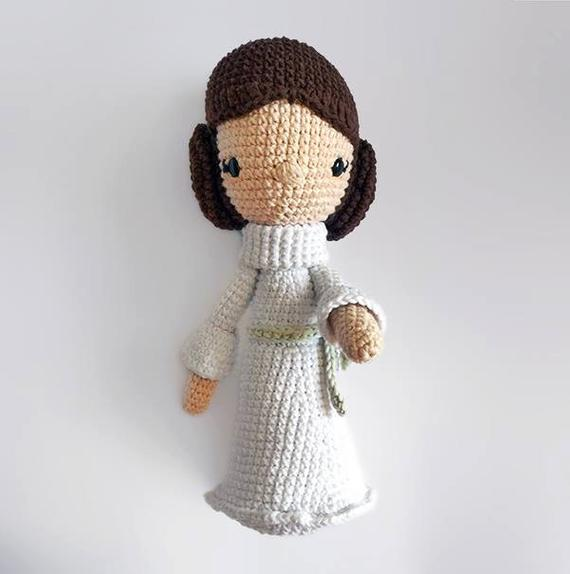Crochet Armigurumi Rattle  Game Character Model Number 817