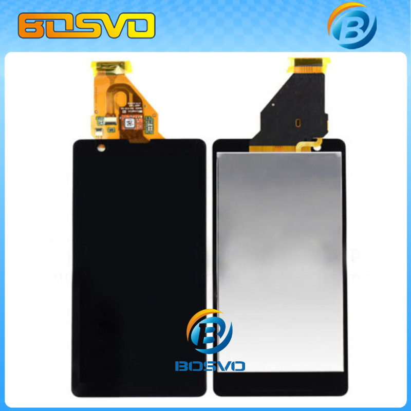 ФОТО Lcd screen with touch display assembly digitizer For Sony for Xperia ZR M36h C5503 C5502 5 pcs/lot Free DHL EMS shipping
