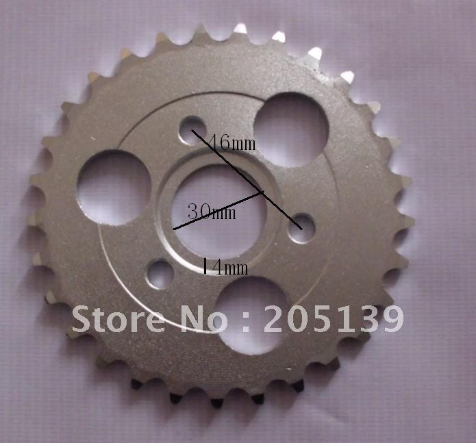motorcycle Z50 rear gear sprocket 29 T tooth FOR 420 chain for pitbike for HONDA monkey bike Z 50 z50r z50j 50CC parts image