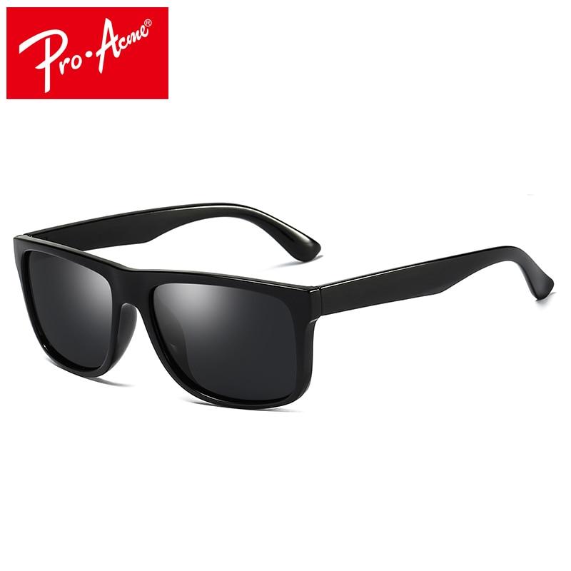 פרו פסגת מותג קלאסי Mens HD מקוטב כיכר משקפי שמש עדשת מראה יוניסקס שמש משקפיים שחור מסגרת Eyewear משקפי CC1008