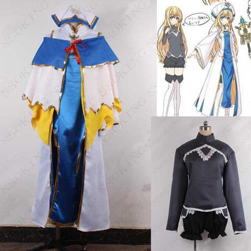 Anime Goblin Slayer Priestess Cosplay Costume Custom made