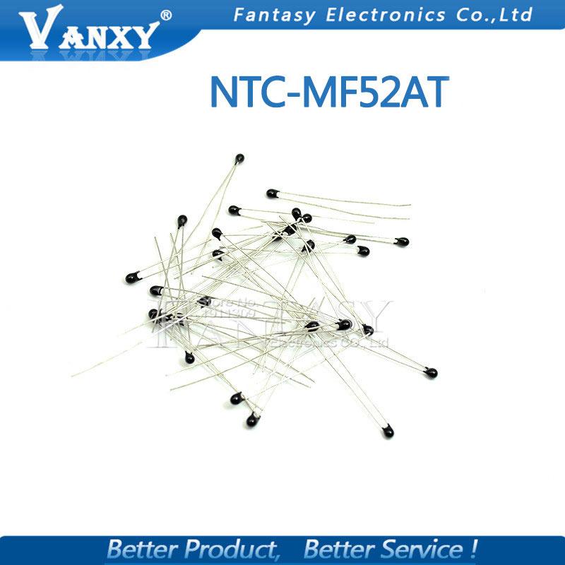 Купить с кэшбэком 20pcs MF52AT MF52 B 3950 NTC Thermistor Thermal Resistor 5% 1K 2K 3K 4.7K 5K 10K 20K 47K 50K 100K