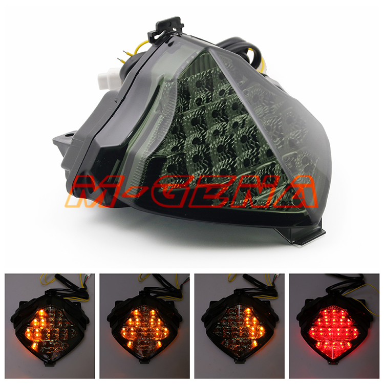 Motorcycle LED Rear Turn Signal Tail Stop Light Lamps Integrated For YZF1000 YZF R1 04 05 06 2004 2005 2006