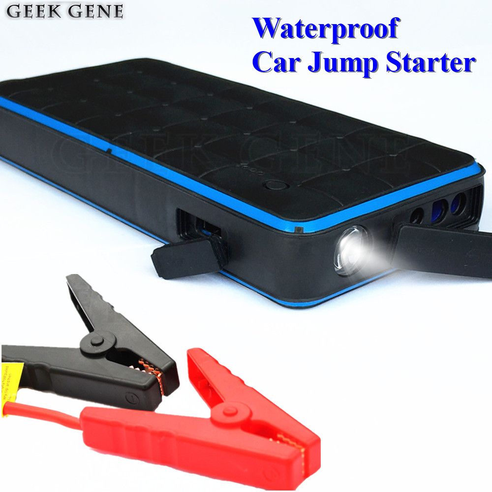 Waterproof 28000mAh Car Jump Starter Power Bank 12V 1000A Portable Starting Device Car Charger For Car