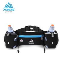 AONIJIE Running Waist Pack Outdoor Sports Hiking Racing Gym Fitness Lightweight Hydration Belt Water Bottle Hip Bag