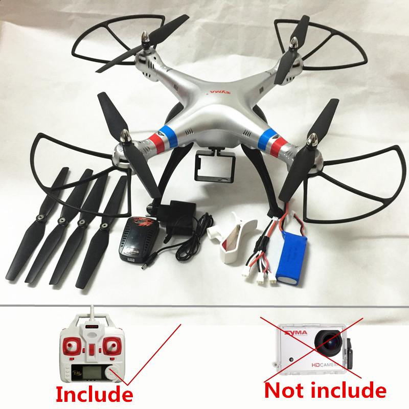 RC Drone Syma X8G without camera Quadrocopter  6-Axis Drones syma x8 Big RC Quadcopter RC Helicopter VS MJX X101 Dron wltoys q222 quadrocopter 2 4g 4ch 6 axis 3d headless mode aircraft drone radio control helicopter rc dron vs x5sw