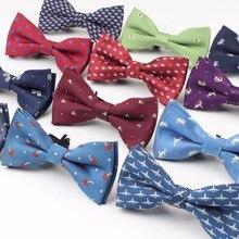 Стиль, клетчатый Детский галстук-бабочка из полиэстера, галстук-бабочка для маленьких детей, классический галстук-бабочка в полоску для питомцев, лося, велосипеда, зонта, собаки, автомобиля