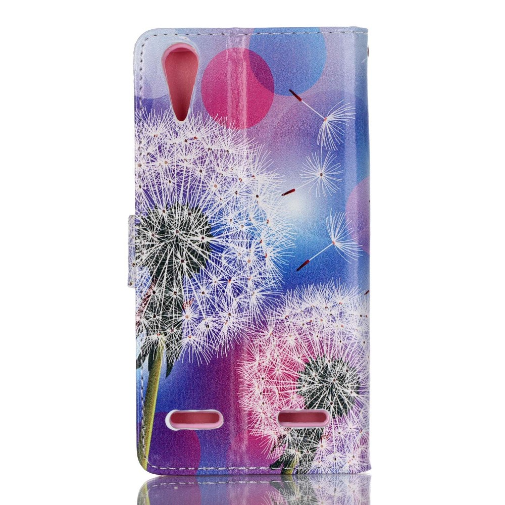 Flip Leather Case Cover Cases for Lenovo A 6000 A6000 / A <font><b>6010</b></font> A6010 Plus K 3 K3 / K30 K 30 K30-t K30-w Phone Bags Coque Fundas image