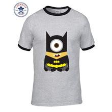 Minions Super Hero Marvel DC Comic short Sleeve Tshirt