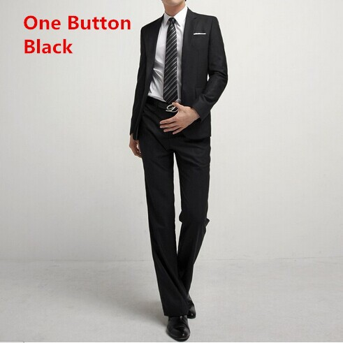 one button black