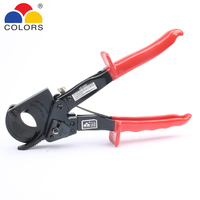HS 325A 240mm HS325A Hand Ratchet Cable Cutter Plier, Ratchet Wire Cutter Plier Hand Tool Hand Plier for Large cable