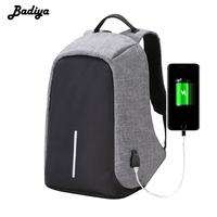 New Men Backpack Lazy Travel Bags Laptop Business Unisex Knapsack Anti Theft With Usb Charger Waterproof
