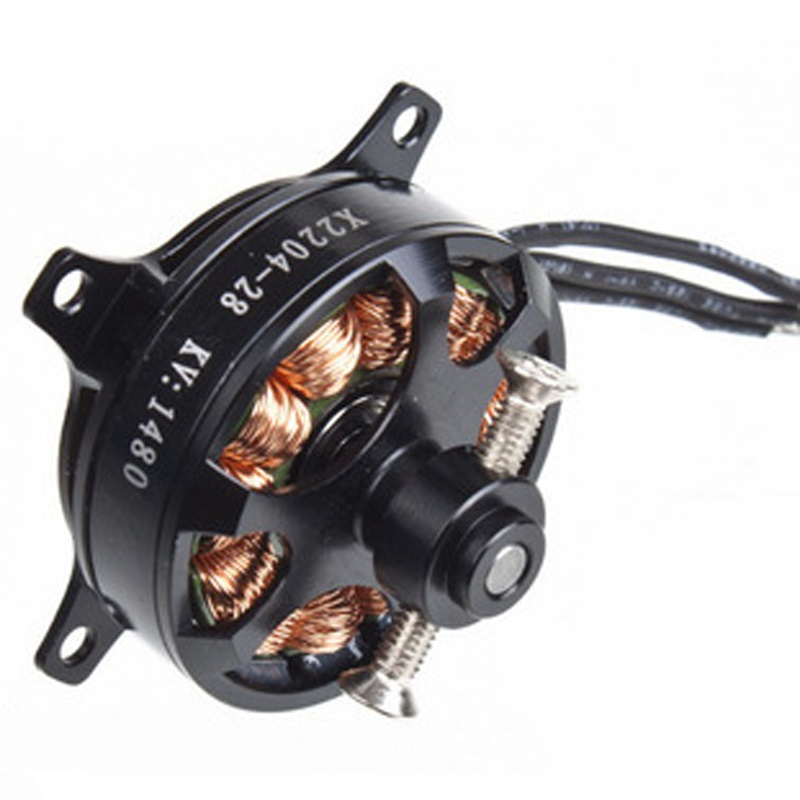 1PC X2204 Outrunner External Brushless Motor 1480KV 1800KV Motor for Quadcopter Helicopter RC Model Aircraft Spare Parts цены