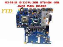 Original for ACER M3-581G laptop motherboard M3-581G I5-3337U 2GB GT640M 1GB JM50 MAIN BOARD tested good free shipping