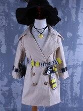 Южная Корея 2016 осенью новый девушки темперамент двубортные пальто бесплатная доставка