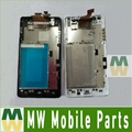 Black White 1PC /Lot LCD Display +Touch Screen +Frame Full Assembly Digitizer For LG Optimus G E975 LS 970 E973 Free Shipping