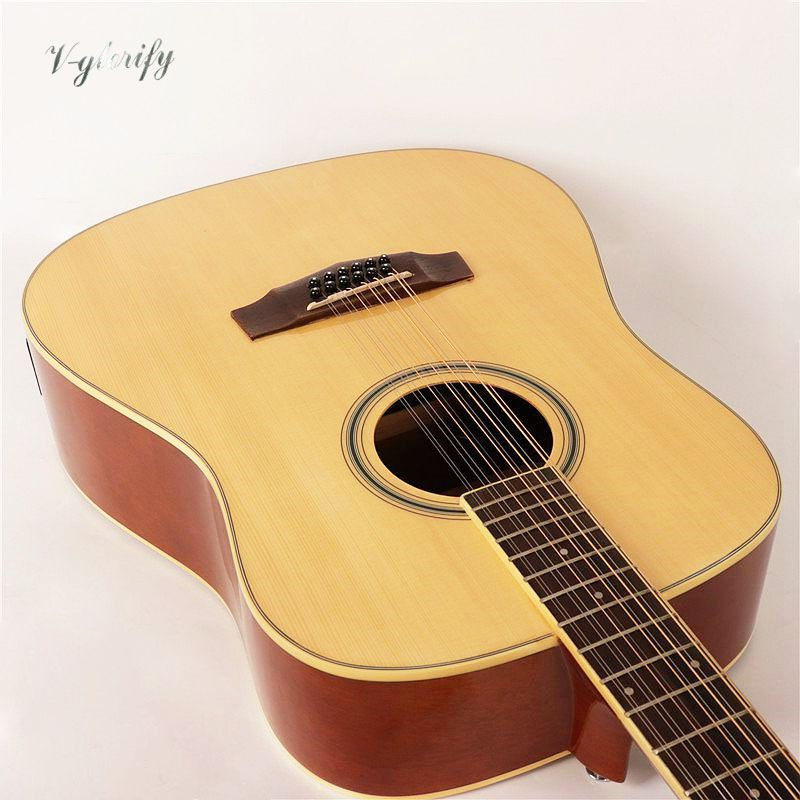 high quality 12 string acoustic electric guitar