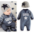 Baby Boy Costume Fashion Baby Rompers Cute Handsome Newborn Clothing Spring Autumn Baby Boy Jumpsuit