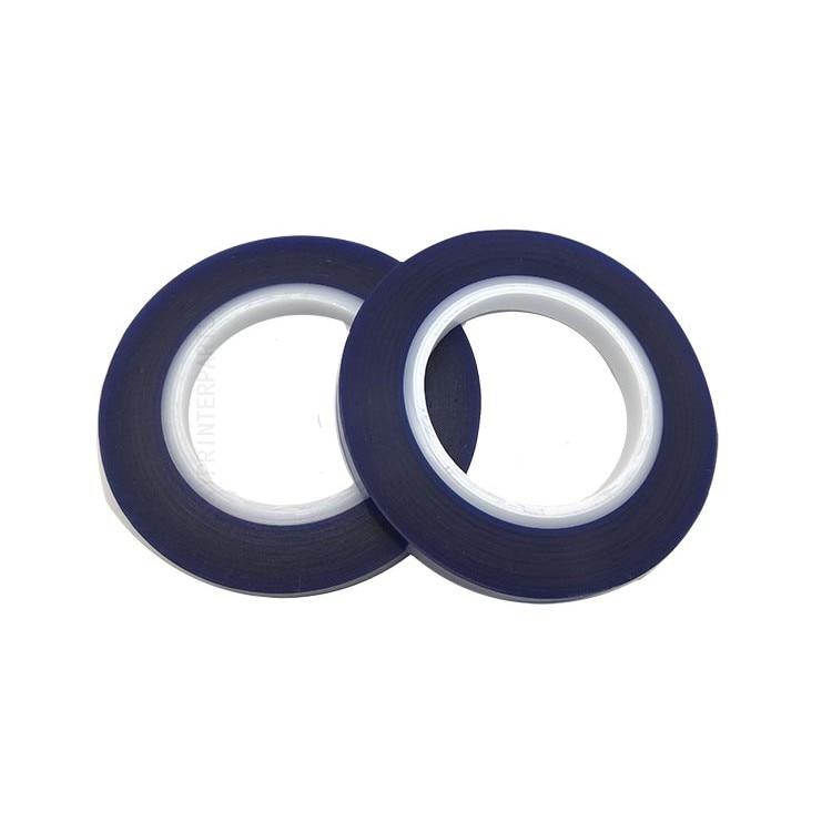 Синяя лента класса А совместима с картриджами для струйных принтеров 100*12 мм