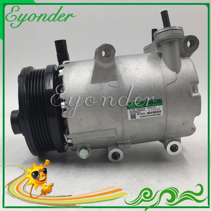 A/C AC Air Conditioning Compressor Cooling Pump 5 for Volvo S40 II MS V50 MW C30 1.8 2.0 2.4 3M5H19497BC 6M5H19D629AD 351113971 5 pcs qdzh35g r134a 12v cooling compressor for marine refrigeration unit