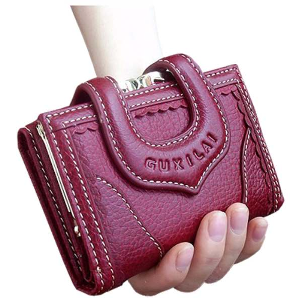 TFTP Women Genuine Leather wallet Short paragraph Lace Hasp Purse Female Clutch Bag 3 Fold Lady Card Holders jialante 2018 new snake skin python skin women clutch bag female snake leather hand bag lady bag wallet card sleeve soft