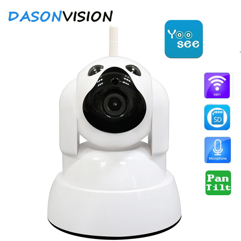 Yoosee HD WIFI IP camera 720P wireless infrared pan tilt onvif home security CCTV camara motion alarm p2p sd card night vision new surveillance ip camera pan tilt p2p ir night vision motion detection wireless wifi indoor home security support 64g tf card