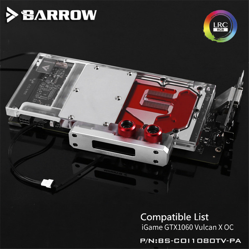 Barrow Colorful IGame1080 Vulcan X OC GPU Water Block Aurora Graphis Card Full Coverage BS-COI1080TV-PA sylvanian families 3