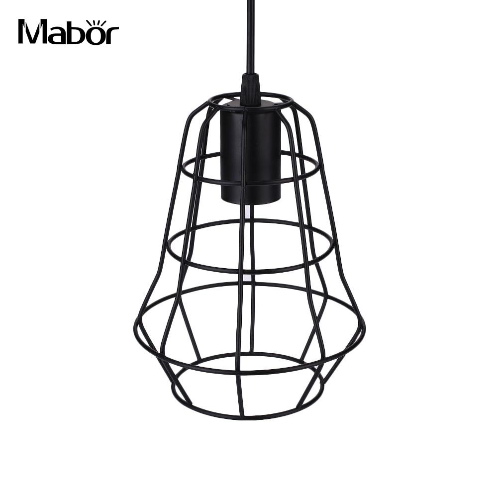 lamp shade Chandelier Industrial Retro Pendant Lamp Aisle Lamp Cage Lamp Bar Cafe Decor