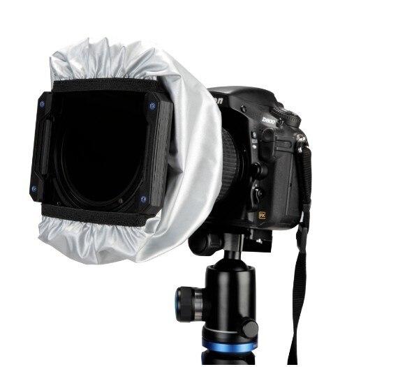 Benro light shield 75/100/150/170mm kwadratowy uchwyt filtra GND obiektyw filtr kapturowy światło rozproszone