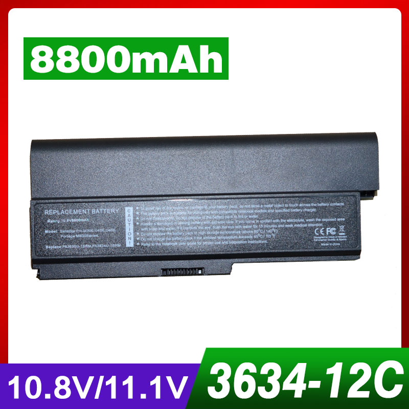 8800mAh laptop battery for Toshiba Satellite Pro 3000 C650 C660 C660D L510 L600 L630 L640 L650 L670 M300 PS300C T130 U400 мультиварка bork u400