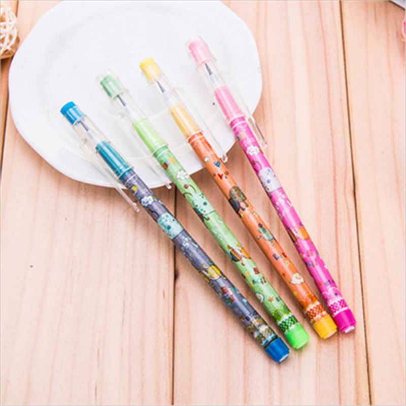 The New Factory Direct Mechanical Pencil Multiple Bullet Pencil Pencil Can Push For Pencil Exquisite Office Supplies Small Gift
