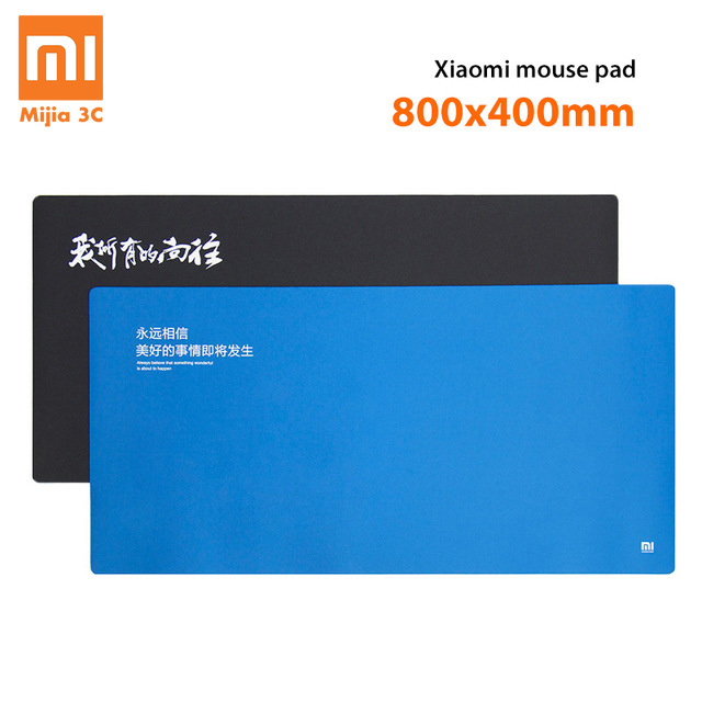 Original Xiaomi Waterproof Mouses Pads Xiaomi Huge Extra XL Large Size Mouses Pads MI Mouse Pad Game Rubber Anti-skid Soft Pad