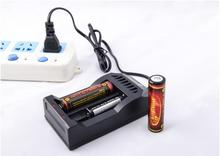 TrustFire TR-017 2 Slots Battery Smart Charger+2pcs Protected 18650 3.7V 3000mAh Rechargeable Batteries with PCB