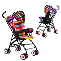 Portable Baby Stroller Hand Folding Umbrella Car Simple Ultra Folding Children Baby Four Wheel Suspension Trolley Pram
