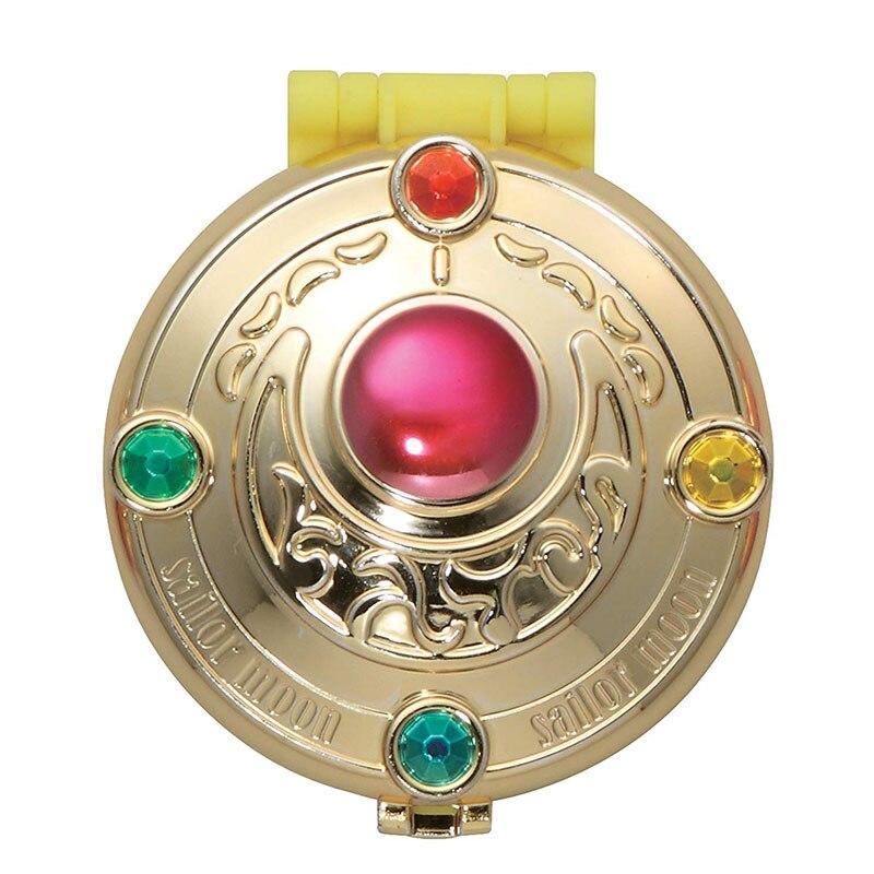 1 шт. гашапон Сейлор Мун трансформирующая компактная Хрустальная звезда компактное космическое сердце компактная брошь набор ювелирных изделий чехол игрушки