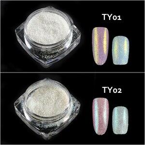 Image 3 - New Fashion 1 Bottle Shining Nail Glitter Dust Sugar Coating Effect Powder DIY Decoration Dust Nail Art Manicure Tool BETY01 05
