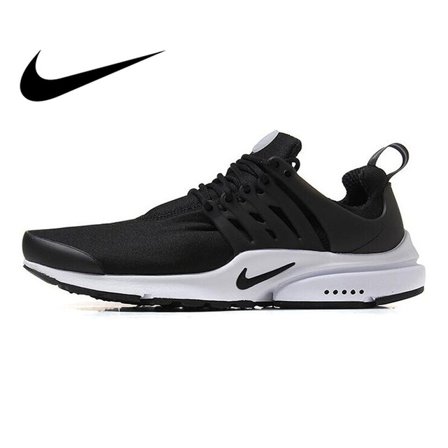 cheap for discount 1abe8 4cd34 Original NIKE AIR PRESTO Men s Running Shoes Lace up Cushioning Breathable  Comfortable Casual Shoes Walking Jogging Sneakers-in Running Shoes from  Sports ...