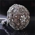 Nueva Llegada Clásico Diamante Jeweled Ramo ramo de La Boda Ramo de Novia de Joyas de Diamantes de Cristal de Lujo