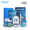 Yonker Medical Blood Glucose Meters mg/dl Blood Glucose Monitor Vein Finder Glucose meter Diabetes Care Tester For diabetics