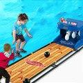 Cdragon Estrela das finanças 9140 boliche elétrica Crianças Brinquedo de simulação de pontuação dispositivo de reset automático rollback interação pai-filho