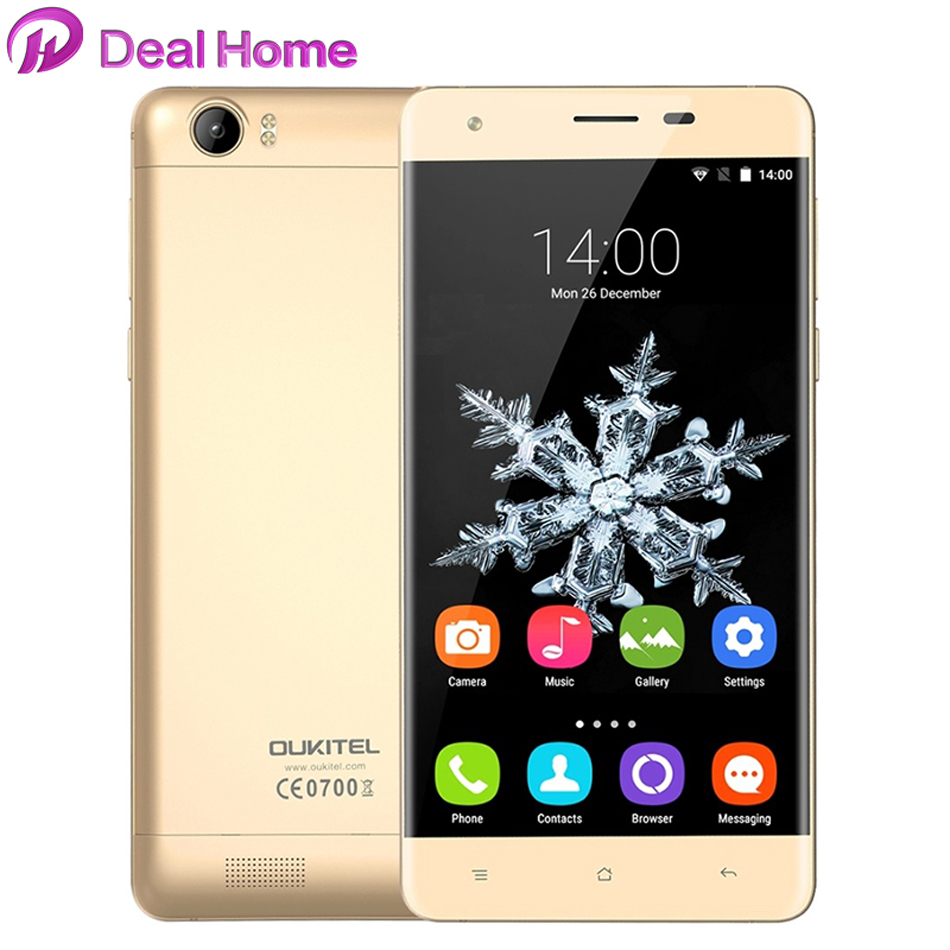 Oukitel K6000 Mobile Phone 6000 mAh 5.5 inch HD MTK6735 Quad Core 2 GB RAM 16 GB