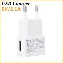Горячая 5 В 2A путешествие удобным ЕС Plug стены USB Зарядное устройство адаптер для Samsung Galaxy S5 S4 S6 Примечание 3 2 для iphone6 5 4 сотовые телефоны
