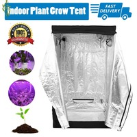 Ship from Germany Durable Hydroponics Grow Room Indoor Plant Grow Tent Premium Garden Greenhouses Universal Planting Accessories