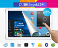 Оригинал Cube Iwork12 Windows 10 Home + Android 5.1 Dual OS Tablet PC 12.2 дюймов IPS 1920x1200 Intel Atom X5-Z8300 Quad Core HDMI