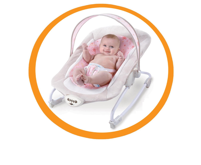 Gift Baby Electric Rocking Chair Bouncers New Kids Leisure Chair Baby Automatic Shakes With Music Appease Rocking Recliner02